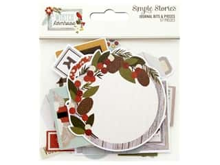 Simple Stories Collection Winter Farmhouse Bits & Pieces Journal