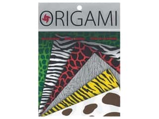 craft & hobbies: Yasutomo Fold Ems Origami Paper 5 7/8 in. 24 pc. Animal