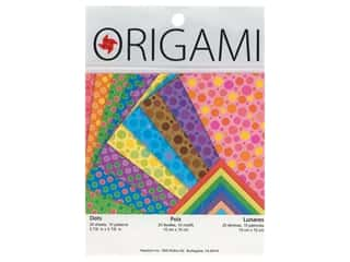 Yasutomo Fold Ems Origami Paper 5 7/8 in. 20 pc. Dots