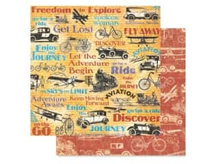 Graphic 45 Collection Lifes A Journey Paper 12 in. x 12 in. Fly Away (25 pieces)