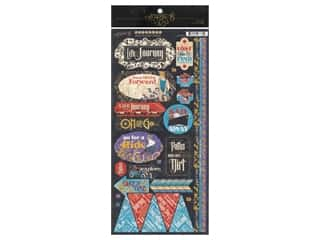 Graphic 45 Collection Lifes A Journey Sticker
