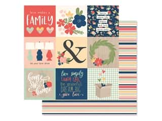 Simple Stories Collection So Happy Together Paper 12 in. x 12 in. Elements 4 in. x 4 in. (25 pieces)