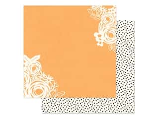 Simple Stories Collection So Happy Together Paper 12 in. x 12 in. Happy Heart (25 pieces)