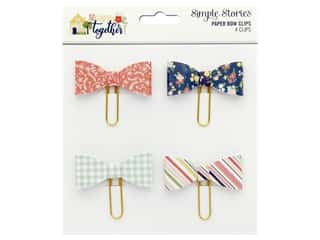 Simple Stories Collection So Happy Together Bow Clips