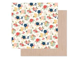 Simple Stories Collection So Happy Together Paper 12 in. x 12 in. Hello Love (25 pieces)