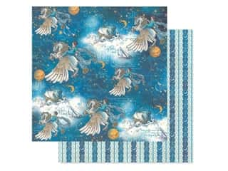 Graphic 45 Collection Dreamland Paper 12 in. x 12 in. Unicorn Fantasy (25 pieces)