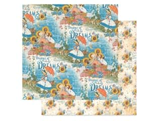 floral & garden: Graphic 45 Collection Dreamland Paper 12 in. x 12 in. Enchanted Garden (25 pieces)