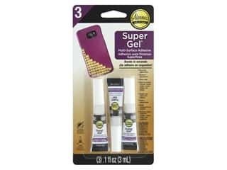 glues, adhesives & tapes: Aleene's Super Gel Adhesive 3 pc.