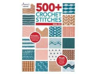 500+ Crochet Stitches with CD Book