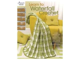 Annie's Learn To Waterfall Crochet Book