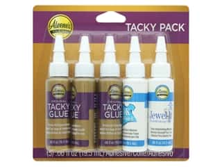 glues, adhesives & tapes: Aleene's Tacky Pack 5 pc. Jewel-It/OK to Wash It/Original