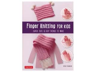 Tuttle Publishing Finger Knitting For Kids Book