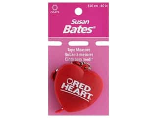 Susan Bates Heart Shaped Tape Measure