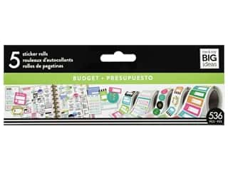 Me&My Big Ideas Happy Planner Sticker Roll Budget