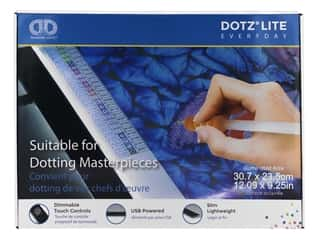 craft & hobbies: Diamond Dotz Dotz Lite Lightpad Light Box