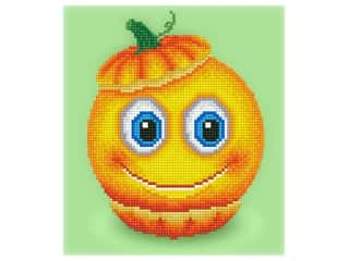 beading & jewelry making supplies: Diamond Dotz Facet Art Kit Beginner Sweet Pumpkin