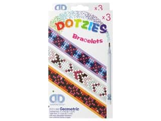 beading & jewelry making supplies: Diamond Dotz Facet Art Dotzies Bracelets Kit Geometic 3 pc