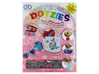 beading & jewelry making supplies: Diamond Dotz Facet Art Dotzies Variety Kit Pink