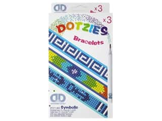 beading & jewelry making supplies: Diamond Dotz Facet Art Kitz Dotzies Bracelets Symbolic 3 pc