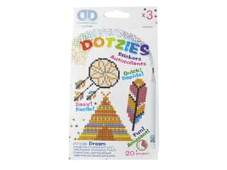Diamond Dotz Facet Art Dotzies Stickers Kit Dream 3 pc