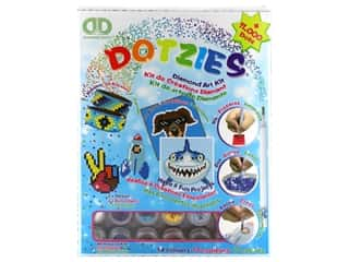craft & hobbies: Diamond Dotz Facet Art Dotzies Variety Kit Blue