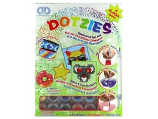 beading & jewelry making supplies: Diamond Dotz Facet Art Dotzies Variety Kit Green
