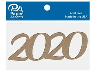 scrapbooking & paper crafts: Paper Accents Chip Shape 4 in. 2020 Natural 8 pc