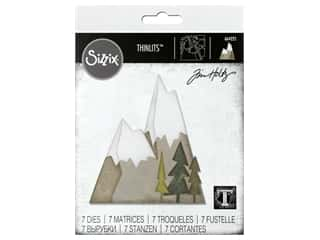 Sizzix Dies Tim Holtz Thinlits Alpine