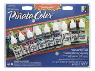 craft & hobbies: Jacquard Pinata Color Alcohol Ink Exciter Pack 9 pc