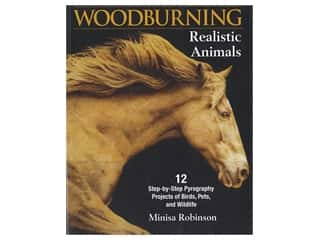 Fox Chapel Publishing Woodburning Realistic Animals Book