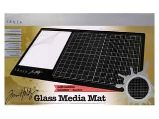 craft & hobbies: Tonic Studios Tim Holtz Glass Media Mat Left Handed
