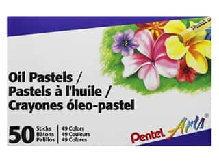 Pentel Oil Pastel Set 50 pc