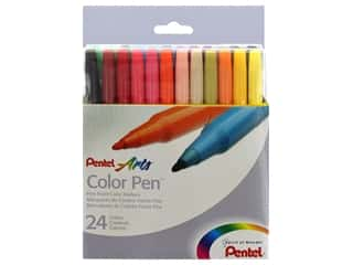 Pentel Color Pen Set 24 pc