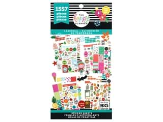 scrapbooking & paper crafts: Me&My Big Ideas Happy Planner Sticker Value Pack Seasonal