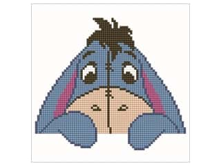 beading & jewelry making supplies: Diamond Dotz Intermediate Kit - Disney Eeyore Head