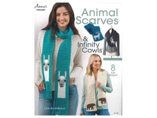 yarn: Annie's Animal Scarves & Infinity Cowls Book