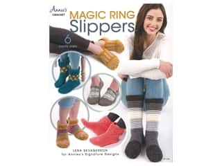 yarn: Annie's Magic Ring Slippers Book