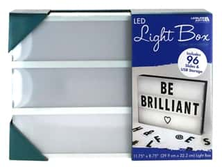 craft & hobbies: Leisure Arts Light Box LED