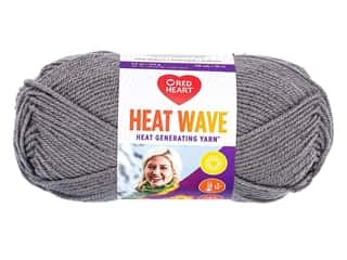 Red Heart Heat Wave Yarn 198 yd. #0420 Radio (3 skeins)