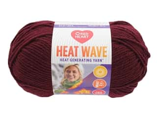 Red Heart Heat Wave Yarn 198 yd. #0959 Luggage (3 skeins)