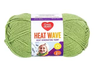 Red Heart Heat Wave Yarn 198 yd. #0660 Seaweed (3 skeins)