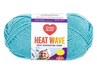 Red Heart Heat Wave Yarn 198 yd. #0810 Blue Skies (3 skeins)