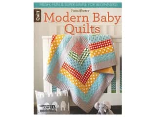 books & patterns: Leisure Arts Fons & Porter Modern Baby Quilts Book