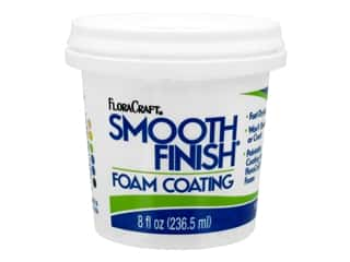 FloraCraft Foam Accessories Smooth Finish Paintable Coating 8 oz