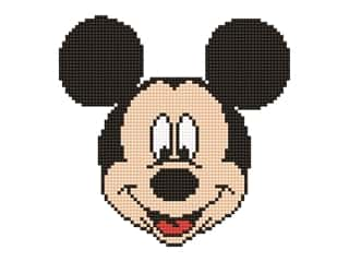 beading & jewelry making supplies: Diamond Dotz Intermediate Kit - Disney Mickey Head