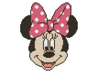 beading & jewelry making supplies: Diamond Dotz Facet Art Kit Intermediate Disney Minnie Head