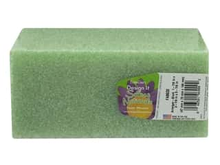 craft & hobbies: FloraCraft Styrofoam Block Arranger 6 x 3 x 2 in. Green 1 pc.