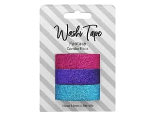 scrapbooking & paper crafts: PA Essentials Washi Tape Combo Pack 3 pc. Glitter Fantasy