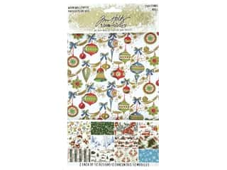Tim Holtz Idea-ology Christmas Worn Wallpaper