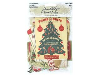 Tim Holtz Idea-ology Christmas Ephemera Pack